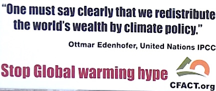 global warming billboard